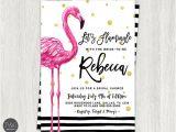 Flamingo Bridal Shower Invitations Let 39 S Flamingle Flamingo Bridal Shower by Paperandinkdesignco