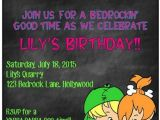 Flintstones Party Invitations Flintstones Pebbles Birthday Invite by Grinandgiggles On Etsy