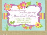 Flower themed Birthday Party Invitation Wording 16 Best Images About Animal and Bug themed Invitations On