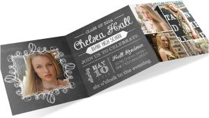 Folded Graduation Invitations 10 Graduation Photo Invitations Free Psd Vector Ai