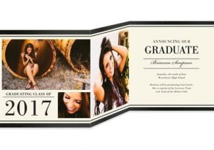 Folded Graduation Invitations 38 Printable Graduation Invitations Psd Ai Free