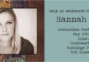 Folded Graduation Invitations Folded Photo Graduation Party Invitations Photo Card Chef