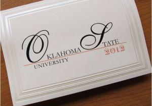 Folded Graduation Invitations Graduation Announcement Traditional Folded Card Embossed