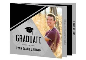 Folded Graduation Invitations Templates 43 Printable Graduation Invitations Free Premium