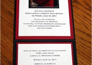 Folded Graduation Invitations Templates Invitation Fold Graduation Invitations Pinterest