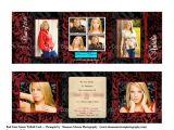 Folded Graduation Invitations Templates Tri Fold Graduation Invitations Template Best Template