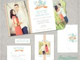 Folded Wedding Invitation Templates Wedding Invitation Boutique Tri Folded Design Template