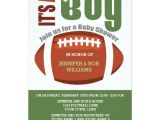 Football Baby Shower Invitation Template It S A Boy Football Couples Baby Shower Invitation