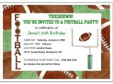 Football Party Invitation Wording Football Party Invitation Wording