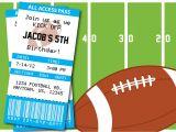 Football Party Invitation Wording Invitation Football Party