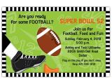 Football Party Invitation Wording Kick F Football Invitations