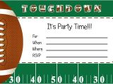 Football Party Invitations Templates Free Free Football Party Printables From by Invitation Only Diy