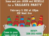 Football Tailgate Party Invitation Wording Football Tailgate Invitations