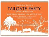 Football Tailgate Party Invitation Wording Tailgate Party Go Dawgs Uga Invitations