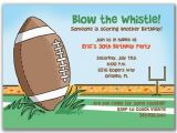 Football themed Birthday Party Invitation Wording Football Birthday Party Invitation Wording