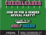 Football themed Gender Reveal Party Invitations Pinterest • the World's Catalog Of Ideas