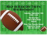 Football themed Party Invitation Wording 8 5×11 Super Bowl Xlviii Football Printable Invitations