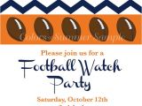 Football Watch Party Invitation Wording Football Invitation Watch Party Tailgate Invitation