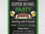 Football Watch Party Invitation Wording Super Bowl Invitation Chalkboard Super Bowl Invitation