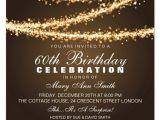 Formal 60th Birthday Invitation Wording 60th Birthday Invitation Cards Design 101 Birthdays