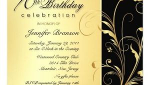 Formal 70th Birthday Invitation Wording 70th Birthday Surprise Party Invitations