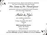 Formal attire On Wedding Invitation Invitations and Program Details Nga and Ankit 39 S Wedding Blog