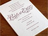 Formal attire On Wedding Invitation Semi formal Wedding Invitation Wording