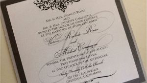 Formal attire On Wedding Invitation Wedding Invitation formal attire Ideas Wedding