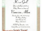 Formal Baby Shower Invitation Wording formal Baby Shower Invitation Wording formal Mint Burlap
