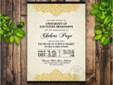 Formal College Graduation Invitations formal Graduation Invitation Printable College Grad