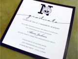 Formal College Graduation Invitations Graduation Announcements formal Customized with Your