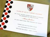 Formal Graduation Invitation Wording Graduation Announcements Customized with Your School Colors
