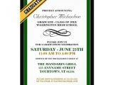 Formal High School Graduation Invitations formal Graduation Announcements 5 Quot X 7 Quot Invitation Card
