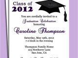 Formal High School Graduation Invitations formal Graduation Invitation Template Free Design Templates