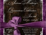 Formal Quinceanera Invitations formal Photo Quinceanera Invitation Party Style Photos
