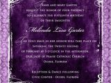 Formal Quinceanera Invitations formal Quinceanera Invitation Wording Image Collections
