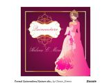Formal Quinceanera Invitations formal Quinceanera Quince Anos Princess Invitation