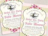 Formal Tea Party Invitation Lovely Bridal Shower Invitations High Tea Ideas Wedding