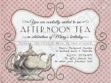 Formal Tea Party Invitation Wording Printable Victorian Tea Party Invitation Printable Tea