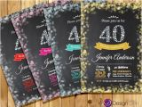 Free 40th Birthday Invitations Templates 25 40th Birthday Invitation Templates – Free Sample