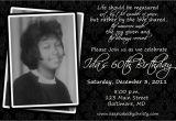 Free 60th Birthday Invitation Wording Surprise 60th Birthday Party Invitations Template