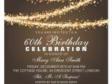 Free 60th Birthday Invitations Templates 60th Birthday Invitation Card Template Free Download