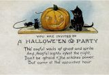 Free Animated Halloween Party Invitations Halloween Countdown Vintage Halloween Party Invitations