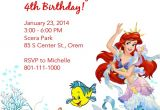 Free Ariel Birthday Invitations Printable Ariel Party On Pinterest Little Mermaid Parties Little