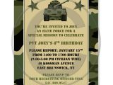 Free Army Birthday Party Invitation Template 40th Birthday Ideas Birthday Invitation Templates Military