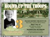 Free Army Birthday Party Invitation Template Free Printable Army Birthday Party Invitations Home