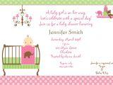 Free Baby Girl Shower Invitations Baby Shower Invitations for Girls Baby Shower