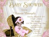Free Baby Shower Invitation Templates for A Girl Glitter Baby Girl Shower Invitation Sample