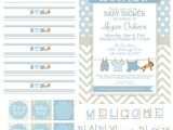 Free Baby Shower Invitations Printouts 15 Free Baby Shower Printables Pretty My Party