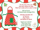 Free Baking Party Invitation Templates 8 Best Images Of Cookie Swap Printable Invitation Template